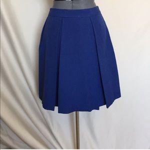 NWOT Brooks Brothers Cobalt Blue Skirt